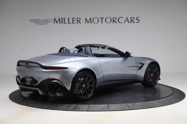 New 2021 Aston Martin Vantage Roadster Convertible for sale $199,285 at Rolls-Royce Motor Cars Greenwich in Greenwich CT 06830 7