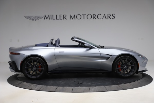 New 2021 Aston Martin Vantage Roadster Convertible for sale $199,285 at Rolls-Royce Motor Cars Greenwich in Greenwich CT 06830 8
