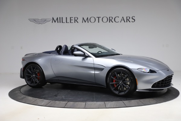 New 2021 Aston Martin Vantage Roadster Convertible for sale $199,285 at Rolls-Royce Motor Cars Greenwich in Greenwich CT 06830 9