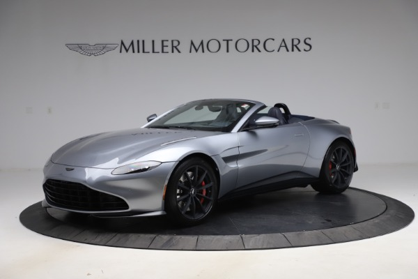 New 2021 Aston Martin Vantage Roadster Convertible for sale $199,285 at Rolls-Royce Motor Cars Greenwich in Greenwich CT 06830 1