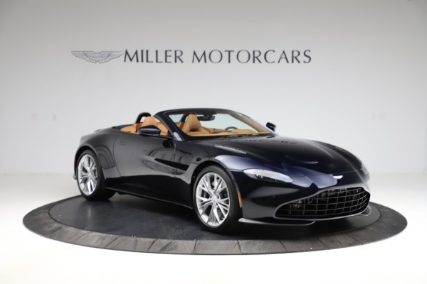 New 2021 Aston Martin Vantage Roadster Convertible for sale $205,686 at Rolls-Royce Motor Cars Greenwich in Greenwich CT 06830 10