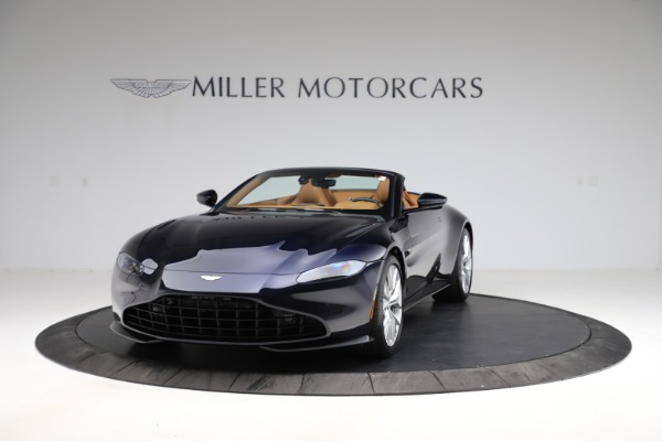 New 2021 Aston Martin Vantage Roadster Convertible for sale $205,686 at Rolls-Royce Motor Cars Greenwich in Greenwich CT 06830 12