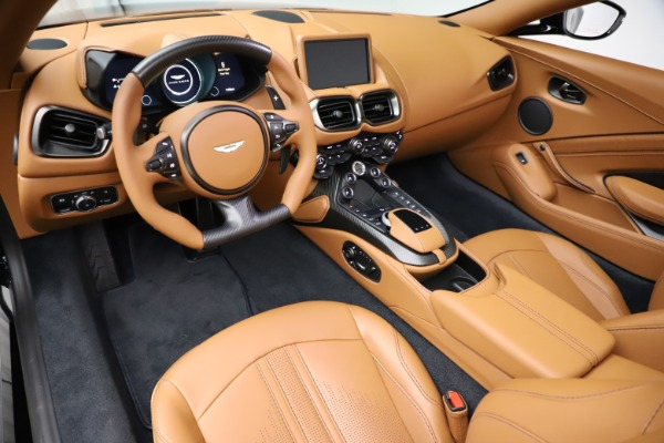 New 2021 Aston Martin Vantage Roadster Convertible for sale $205,686 at Rolls-Royce Motor Cars Greenwich in Greenwich CT 06830 13