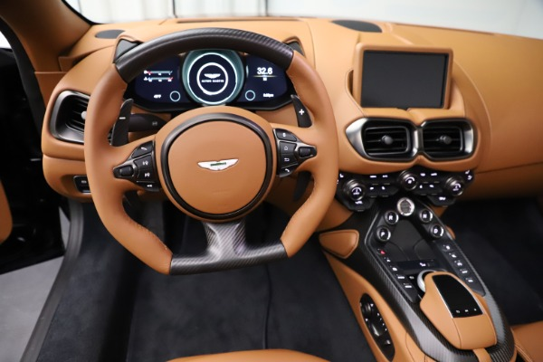 New 2021 Aston Martin Vantage Roadster Convertible for sale $205,686 at Rolls-Royce Motor Cars Greenwich in Greenwich CT 06830 17
