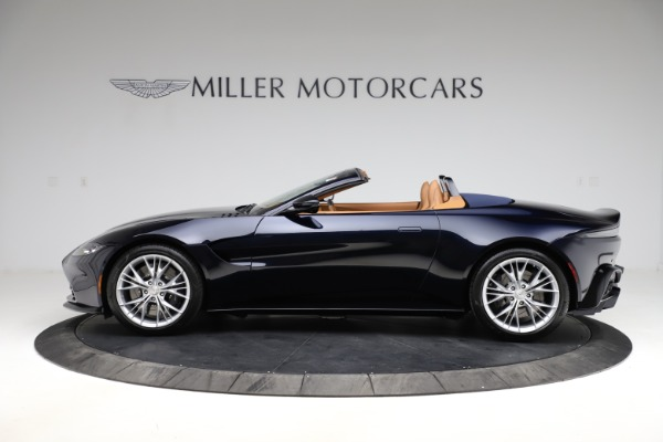 New 2021 Aston Martin Vantage Roadster Convertible for sale $205,686 at Rolls-Royce Motor Cars Greenwich in Greenwich CT 06830 2