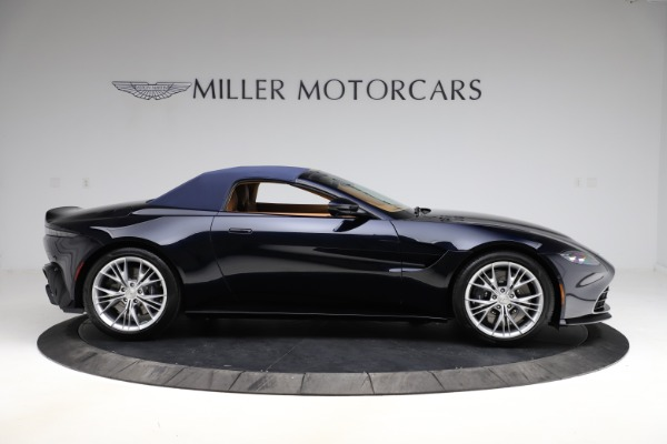 New 2021 Aston Martin Vantage Roadster Convertible for sale $205,686 at Rolls-Royce Motor Cars Greenwich in Greenwich CT 06830 22