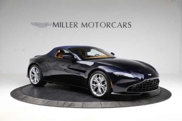 New 2021 Aston Martin Vantage Roadster Convertible for sale $205,686 at Rolls-Royce Motor Cars Greenwich in Greenwich CT 06830 23