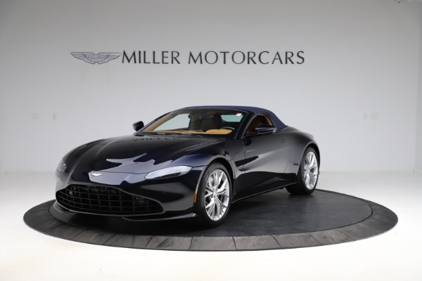 New 2021 Aston Martin Vantage Roadster Convertible for sale $205,686 at Rolls-Royce Motor Cars Greenwich in Greenwich CT 06830 24