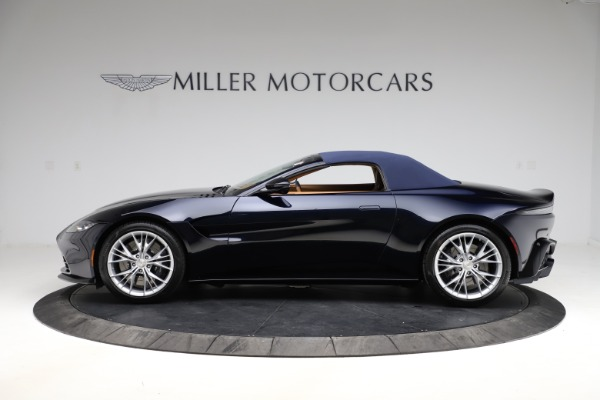 New 2021 Aston Martin Vantage Roadster Convertible for sale $205,686 at Rolls-Royce Motor Cars Greenwich in Greenwich CT 06830 25