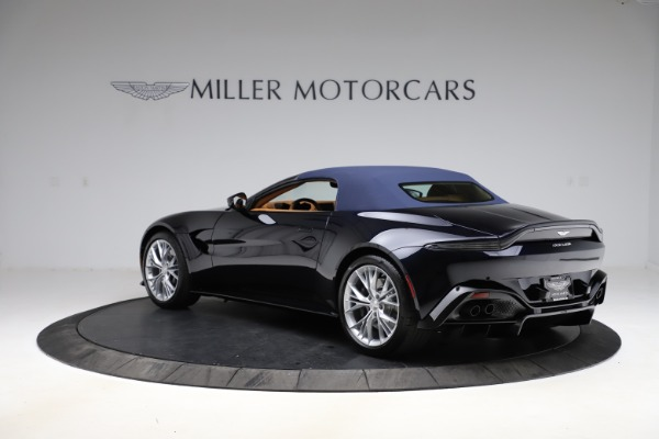 New 2021 Aston Martin Vantage Roadster Convertible for sale $205,686 at Rolls-Royce Motor Cars Greenwich in Greenwich CT 06830 26