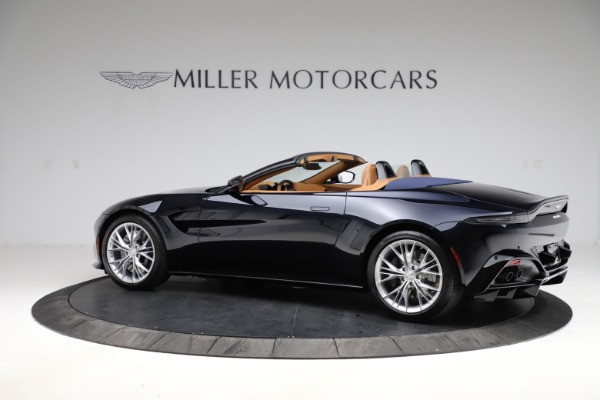 New 2021 Aston Martin Vantage Roadster Convertible for sale $205,686 at Rolls-Royce Motor Cars Greenwich in Greenwich CT 06830 3