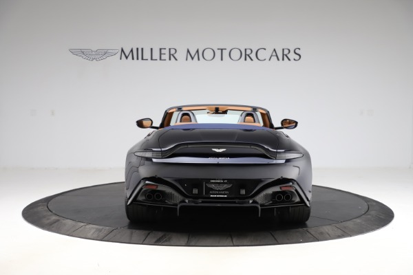 New 2021 Aston Martin Vantage Roadster Convertible for sale $205,686 at Rolls-Royce Motor Cars Greenwich in Greenwich CT 06830 5