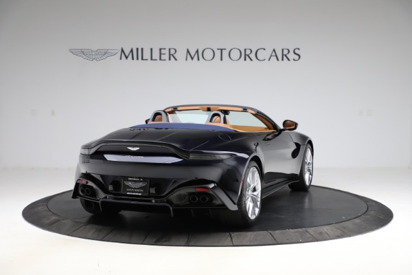 New 2021 Aston Martin Vantage Roadster Convertible for sale $205,686 at Rolls-Royce Motor Cars Greenwich in Greenwich CT 06830 6