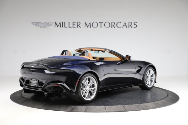 New 2021 Aston Martin Vantage Roadster Convertible for sale $205,686 at Rolls-Royce Motor Cars Greenwich in Greenwich CT 06830 7