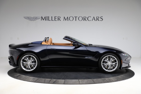 New 2021 Aston Martin Vantage Roadster Convertible for sale $205,686 at Rolls-Royce Motor Cars Greenwich in Greenwich CT 06830 8
