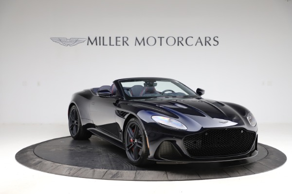 New 2021 Aston Martin DBS Superleggera Volante for sale $402,286 at Rolls-Royce Motor Cars Greenwich in Greenwich CT 06830 10