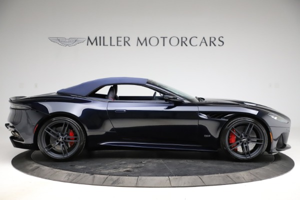 New 2021 Aston Martin DBS Superleggera Volante for sale $402,286 at Rolls-Royce Motor Cars Greenwich in Greenwich CT 06830 12