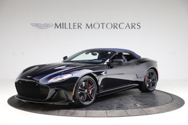 New 2021 Aston Martin DBS Superleggera Volante for sale $402,286 at Rolls-Royce Motor Cars Greenwich in Greenwich CT 06830 16