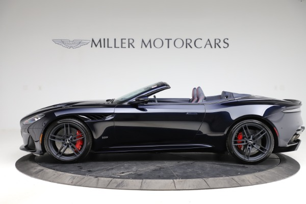 New 2021 Aston Martin DBS Superleggera Volante Convertible for sale $402,286 at Rolls-Royce Motor Cars Greenwich in Greenwich CT 06830 2