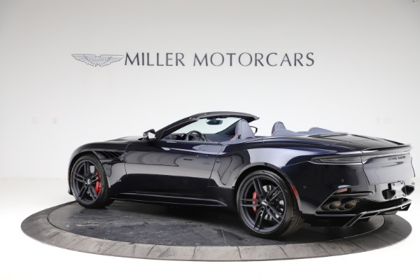 New 2021 Aston Martin DBS Superleggera Volante Convertible for sale $402,286 at Rolls-Royce Motor Cars Greenwich in Greenwich CT 06830 3