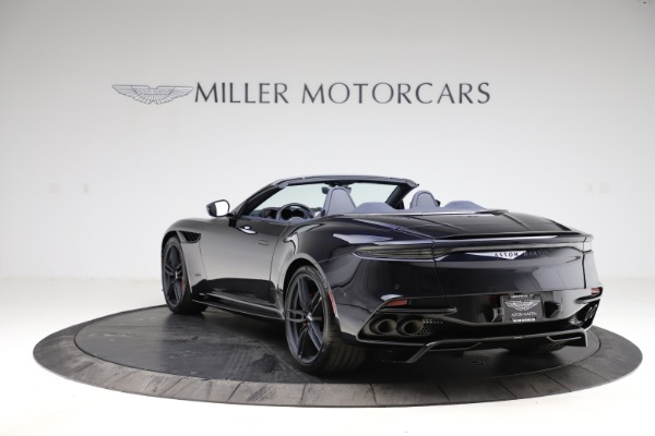 New 2021 Aston Martin DBS Superleggera Volante Convertible for sale $402,286 at Rolls-Royce Motor Cars Greenwich in Greenwich CT 06830 4