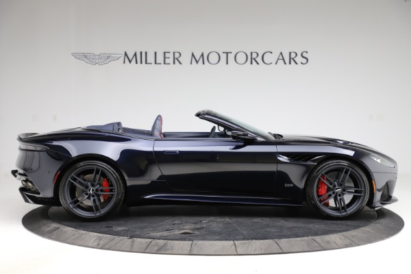 New 2021 Aston Martin DBS Superleggera Volante Convertible for sale $402,286 at Rolls-Royce Motor Cars Greenwich in Greenwich CT 06830 8