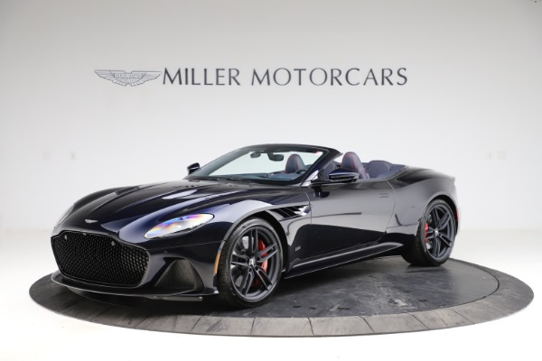 New 2021 Aston Martin DBS Superleggera Volante for sale $402,286 at Rolls-Royce Motor Cars Greenwich in Greenwich CT 06830 1