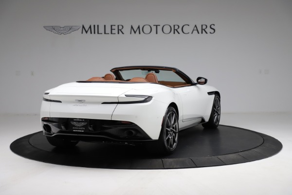 New 2021 Aston Martin DB11 Volante for sale $269,486 at Rolls-Royce Motor Cars Greenwich in Greenwich CT 06830 6