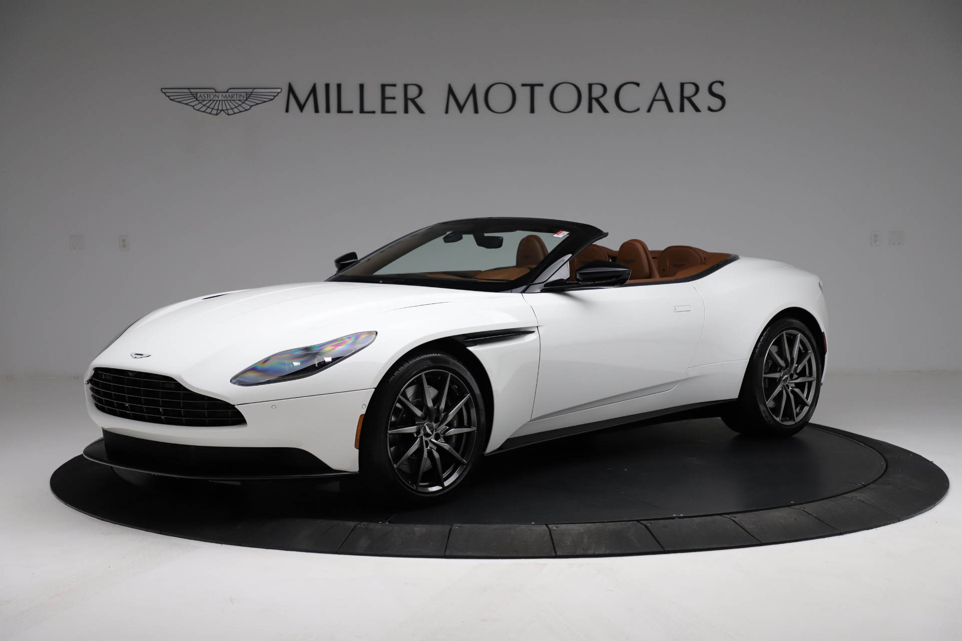 New 2021 Aston Martin DB11 Volante Convertible for sale $269,486 at Rolls-Royce Motor Cars Greenwich in Greenwich CT 06830 1