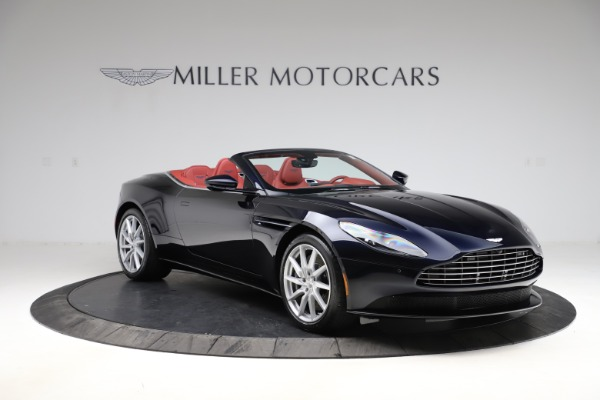 New 2021 Aston Martin DB11 Volante Convertible for sale $261,486 at Rolls-Royce Motor Cars Greenwich in Greenwich CT 06830 10