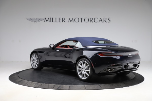 New 2021 Aston Martin DB11 Volante Convertible for sale $261,486 at Rolls-Royce Motor Cars Greenwich in Greenwich CT 06830 27
