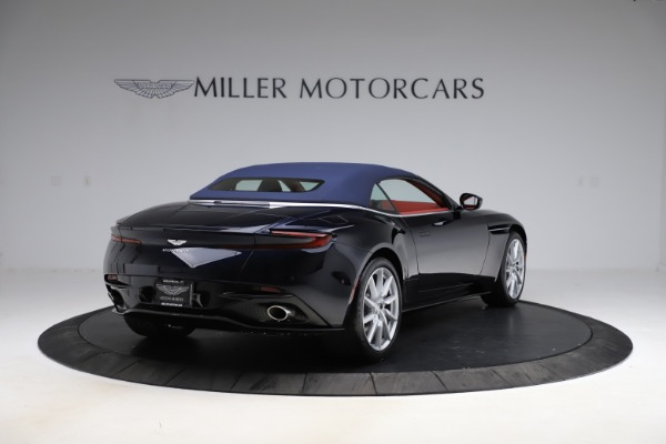 New 2021 Aston Martin DB11 Volante Convertible for sale $261,486 at Rolls-Royce Motor Cars Greenwich in Greenwich CT 06830 28