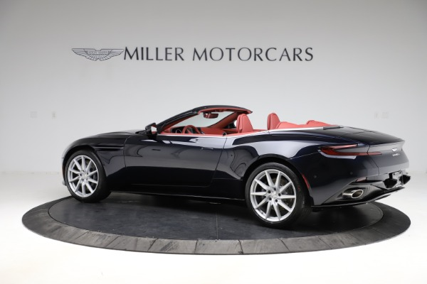 New 2021 Aston Martin DB11 Volante Convertible for sale $261,486 at Rolls-Royce Motor Cars Greenwich in Greenwich CT 06830 3