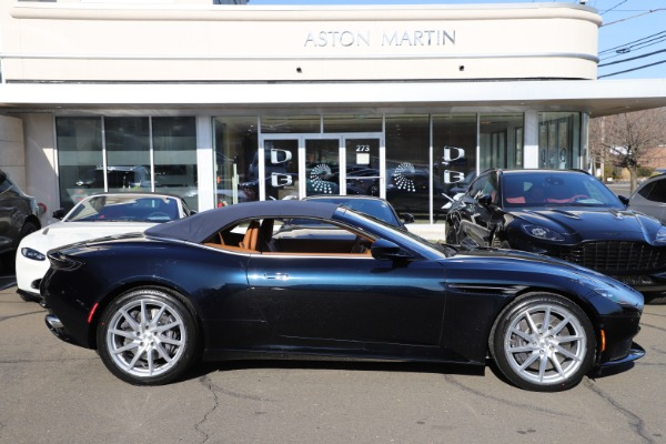 New 2021 Aston Martin DB11 Volante for sale $265,186 at Rolls-Royce Motor Cars Greenwich in Greenwich CT 06830 27
