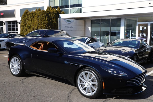 New 2021 Aston Martin DB11 Volante for sale $265,186 at Rolls-Royce Motor Cars Greenwich in Greenwich CT 06830 28