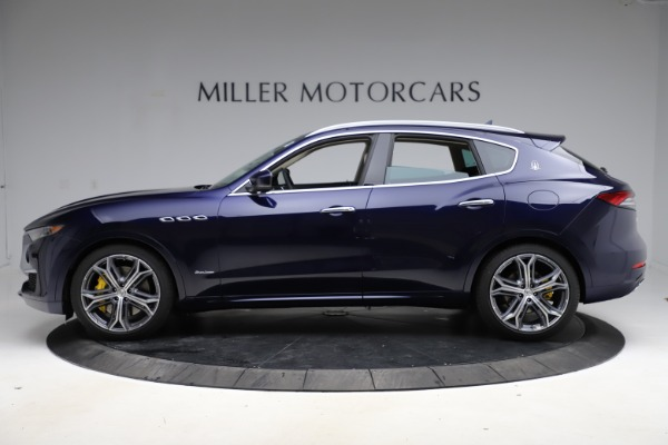New 2021 Maserati Levante S Q4 GranLusso for sale $106,235 at Rolls-Royce Motor Cars Greenwich in Greenwich CT 06830 3