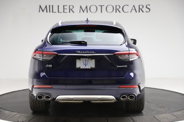 New 2021 Maserati Levante S Q4 GranLusso for sale $106,235 at Rolls-Royce Motor Cars Greenwich in Greenwich CT 06830 6