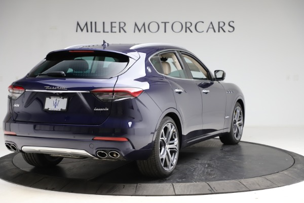 New 2021 Maserati Levante S Q4 GranLusso for sale $106,235 at Rolls-Royce Motor Cars Greenwich in Greenwich CT 06830 7