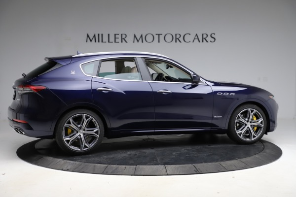 New 2021 Maserati Levante S Q4 GranLusso for sale $106,235 at Rolls-Royce Motor Cars Greenwich in Greenwich CT 06830 8