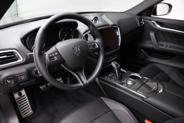 New 2021 Maserati Ghibli S Q4 GranSport for sale $98,125 at Rolls-Royce Motor Cars Greenwich in Greenwich CT 06830 13