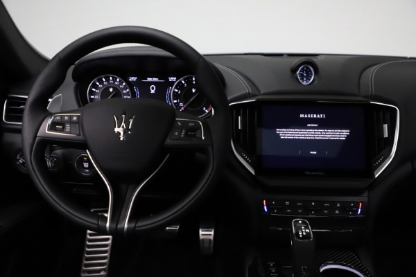 New 2021 Maserati Ghibli S Q4 GranSport for sale $98,125 at Rolls-Royce Motor Cars Greenwich in Greenwich CT 06830 16