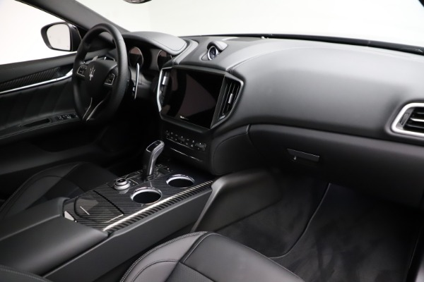 New 2021 Maserati Ghibli S Q4 GranSport for sale $98,125 at Rolls-Royce Motor Cars Greenwich in Greenwich CT 06830 22