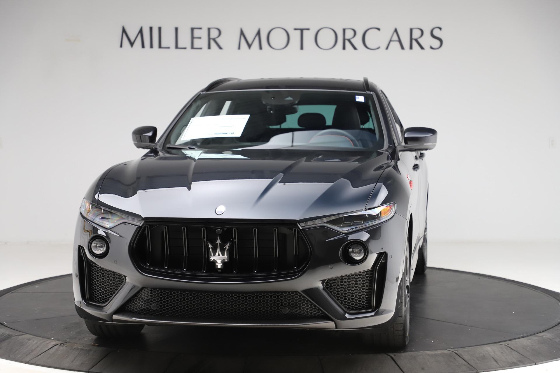 New 2021 Maserati Levante Trofeo for sale $155,035 at Rolls-Royce Motor Cars Greenwich in Greenwich CT 06830 1