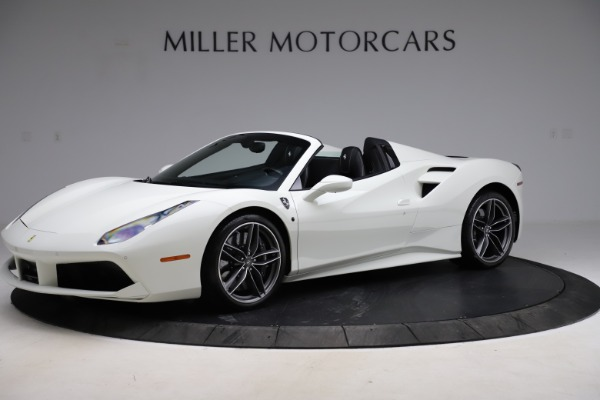 Used 2017 Ferrari 488 Spider for sale $284,900 at Rolls-Royce Motor Cars Greenwich in Greenwich CT 06830 2