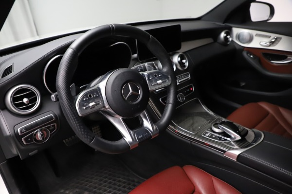 Used 2019 Mercedes-Benz C-Class AMG C 43 for sale $52,990 at Rolls-Royce Motor Cars Greenwich in Greenwich CT 06830 14