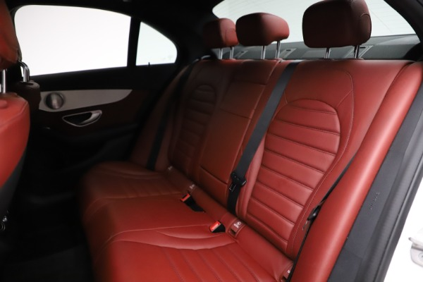 Used 2019 Mercedes-Benz C-Class AMG C 43 for sale $52,990 at Rolls-Royce Motor Cars Greenwich in Greenwich CT 06830 21