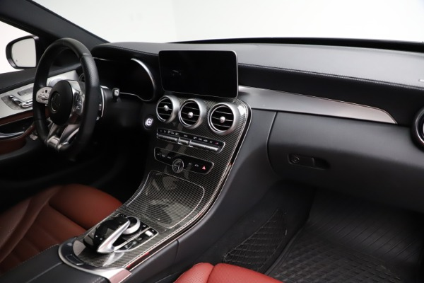 Used 2019 Mercedes-Benz C-Class AMG C 43 for sale $52,990 at Rolls-Royce Motor Cars Greenwich in Greenwich CT 06830 22