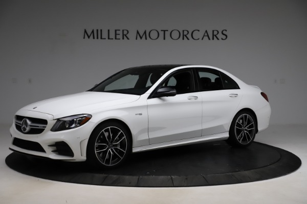 Used 2019 Mercedes-Benz C-Class AMG C 43 for sale $52,990 at Rolls-Royce Motor Cars Greenwich in Greenwich CT 06830 3