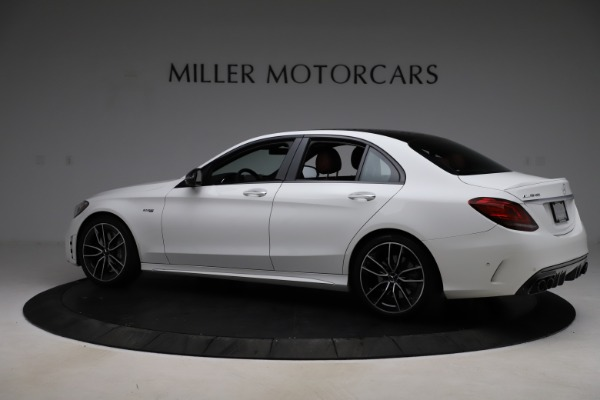Used 2019 Mercedes-Benz C-Class AMG C 43 for sale $52,990 at Rolls-Royce Motor Cars Greenwich in Greenwich CT 06830 5