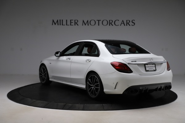 Used 2019 Mercedes-Benz C-Class AMG C 43 for sale $52,990 at Rolls-Royce Motor Cars Greenwich in Greenwich CT 06830 6